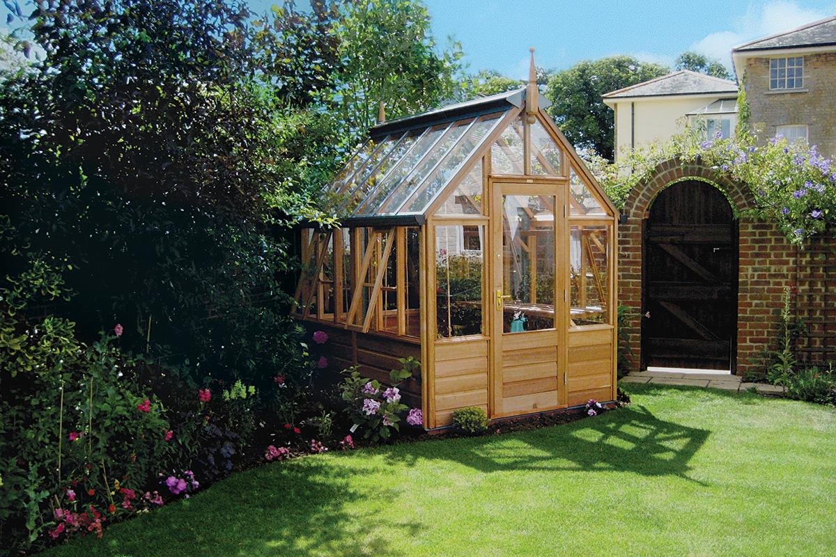 Les serres de jardin rhs freestanding - Les serres de jardin ...